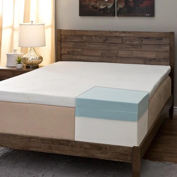 Comfort Dreams Pillow Top 14 Inch King Size Memory Foam Mattress