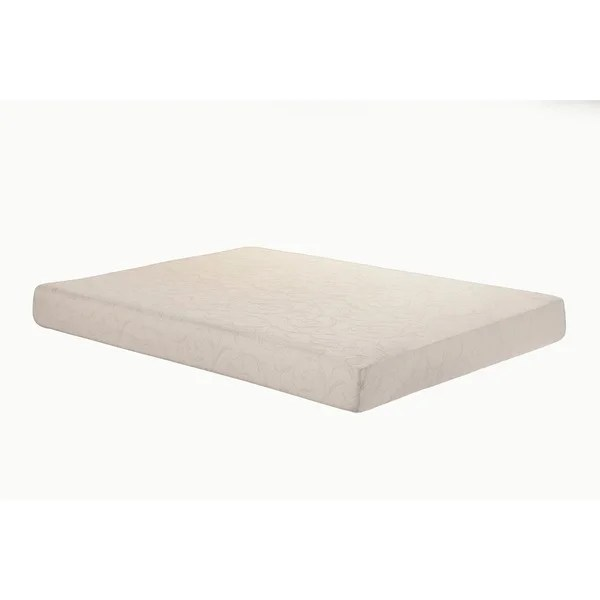 Sleep Zone Deluxe Adjule Bed 8 Inch Queen Size Memory Foam Mattress Set Free Shipping Today 13828942