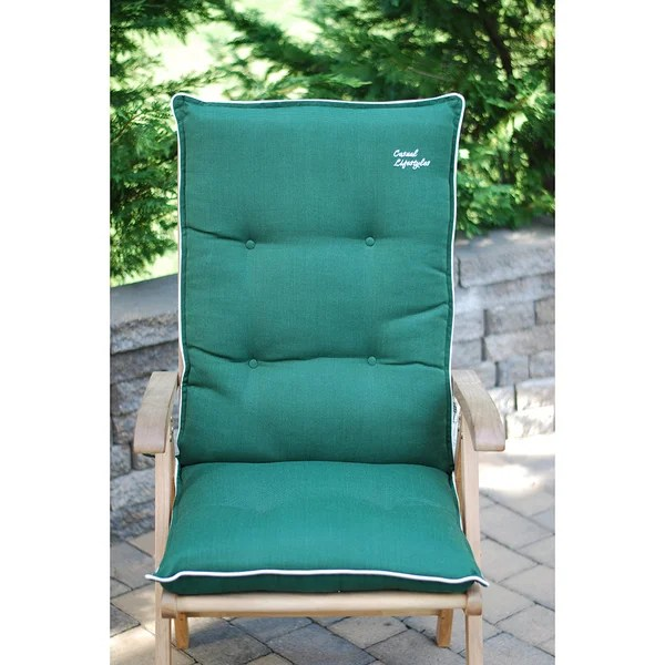 Shop High Back Patio Chair Cushion Set Of 2 Free