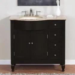 silkroad exclusive natural stone countertop bathroom single sink