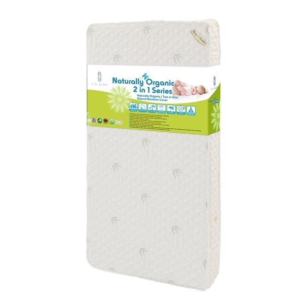 Natural I 2 In 1 Crib Mattress With Coconut Fiber Cotton Layer And