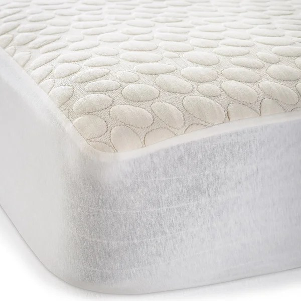 Pebbletex Organic Cotton Waterproof King Size Mattress Protector