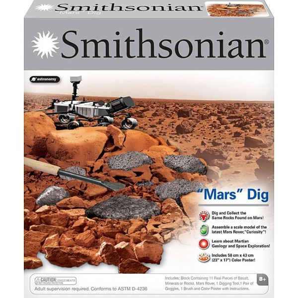Smithsonian Childrens' 'Mars' Dig Play Set with Mars Rover ...