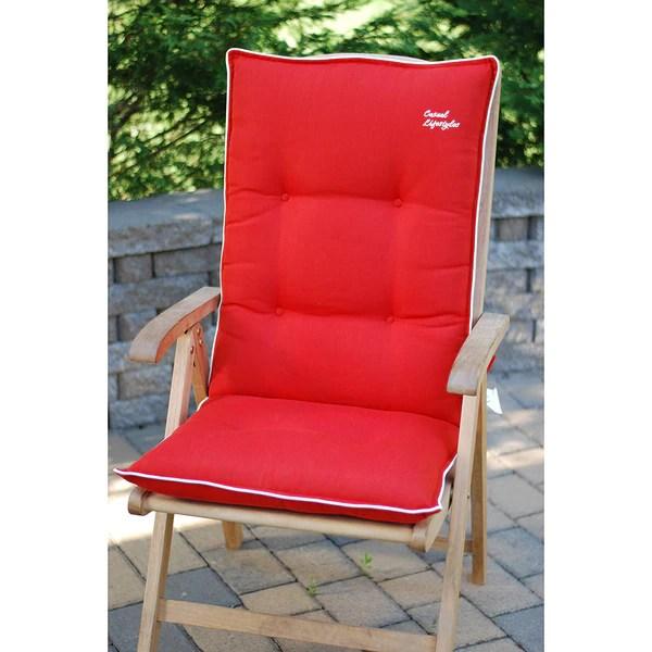 Patio Chair Cushions High Back