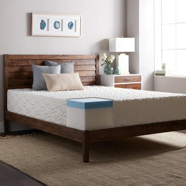 Select Luxury 12 Inch King Size Medium Firm Gel Memory Foam Mattress