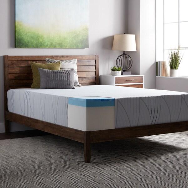 Select Luxury Medium Firm 14 Inch King Size Gel Memory Foam Mattress