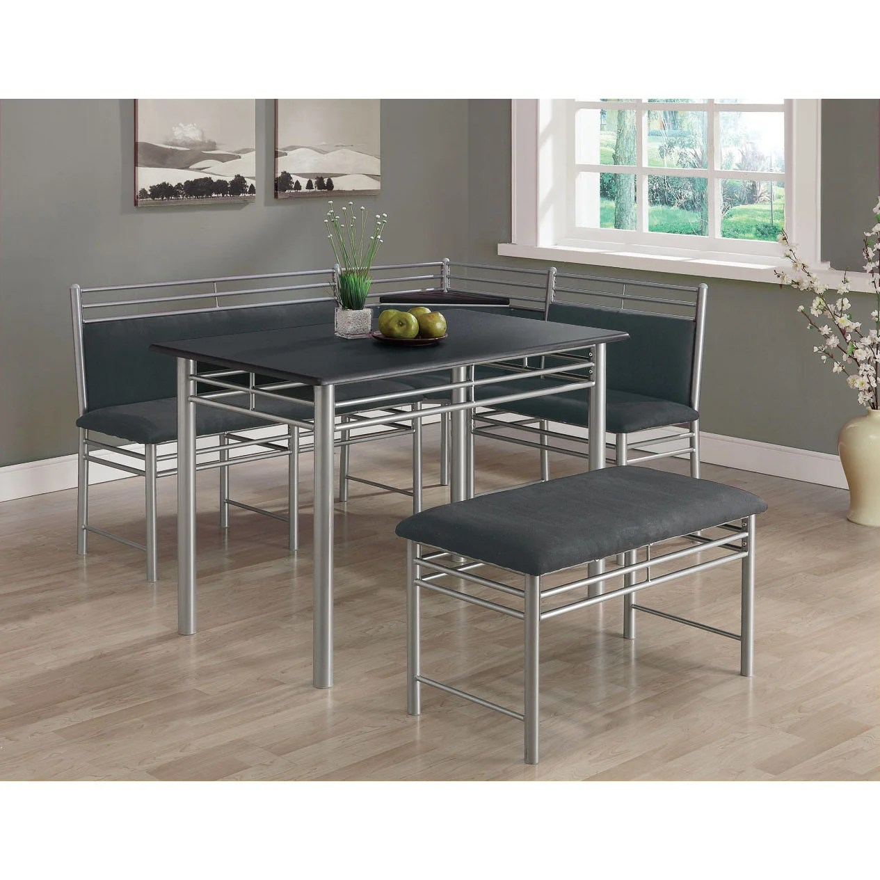Black Counter Height Table Set