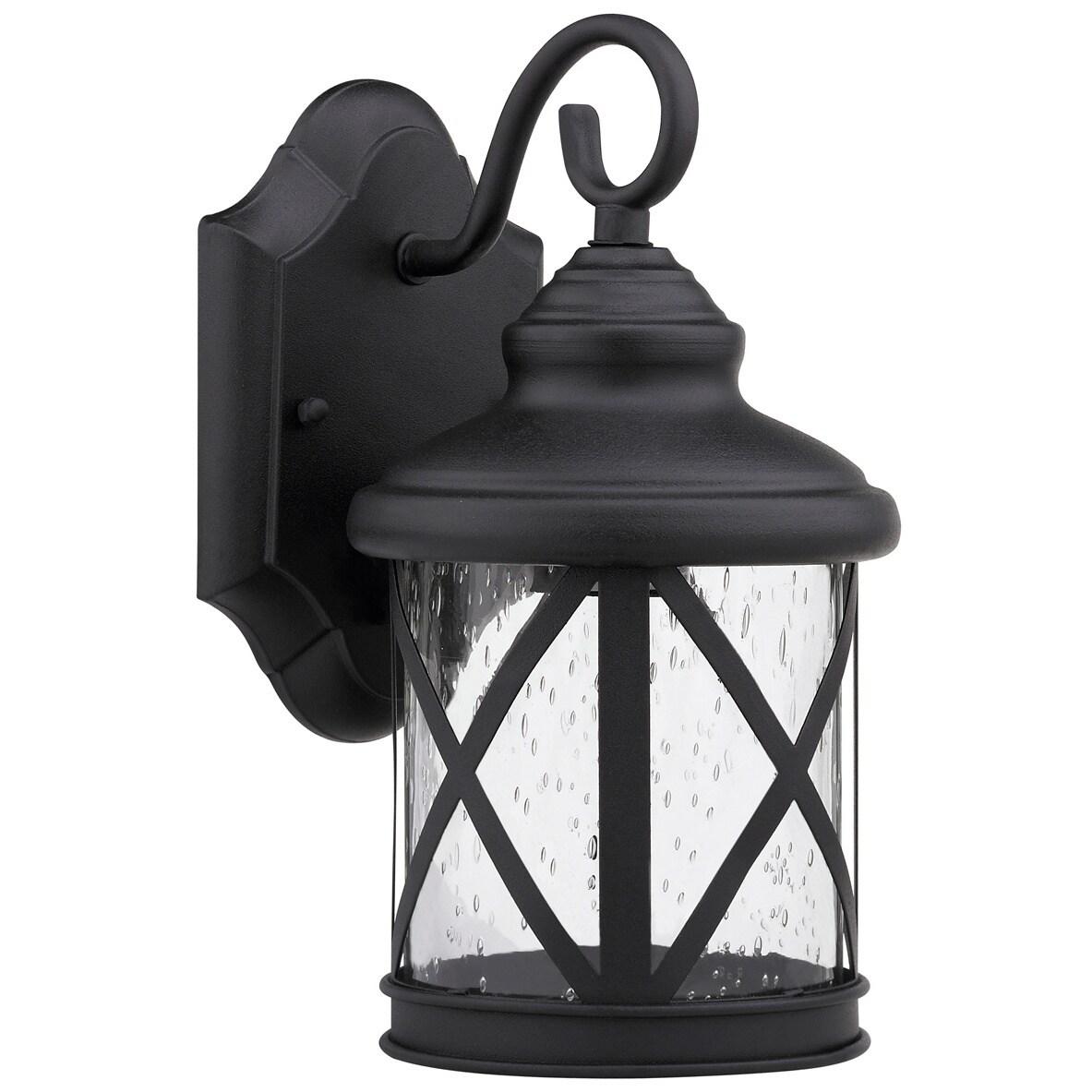 chloe transitional 1 light black outdoor light