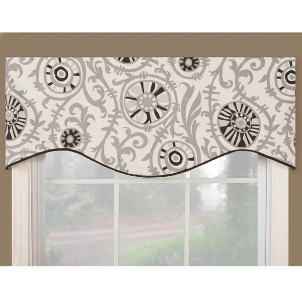 27 Valance Window Inch Black