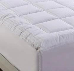 damask stripe pillowtop 500 thread count queen king california