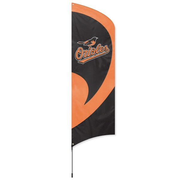 Party Animal Baltimore Orioles Tall Team Flag Free