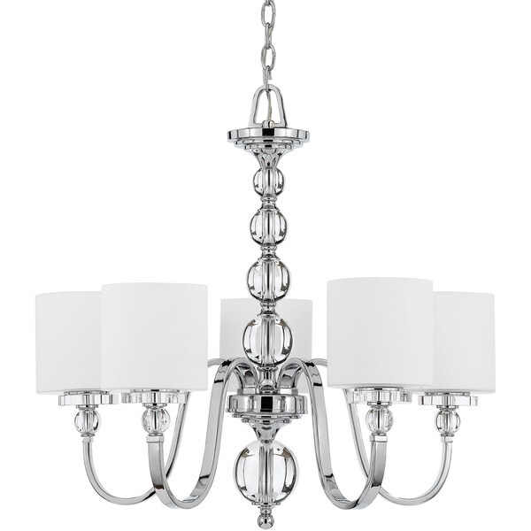 Quoizel Downtown 5 Light Chandelier Free Shipping Today 15059666