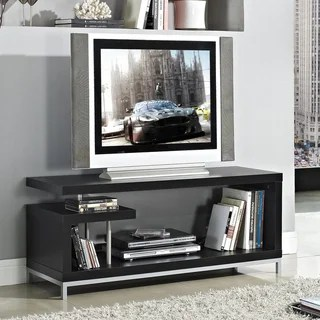Blythe Modern Asymmetrical TV Stand 13817312 Overstock