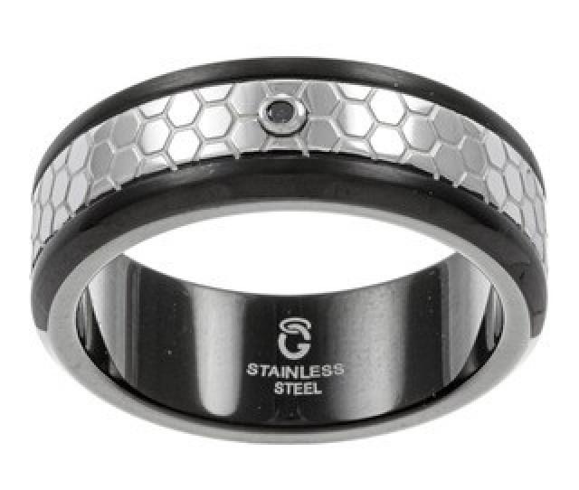 Buy Stainless Steel Mens Wedding Bands Groom Wedding Rings Online At Overstock Com Our Best Wedding Rings Deals