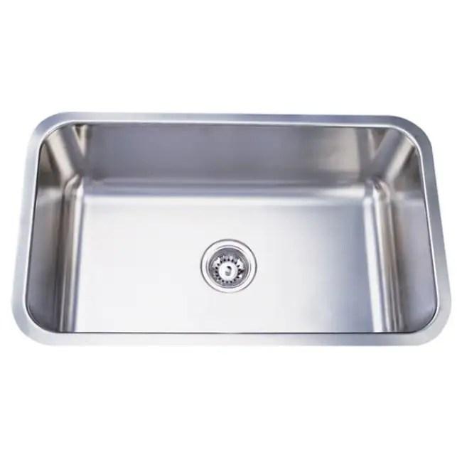 Stainless Steel 30 Inch Extra Deep Kitchen Sink Free