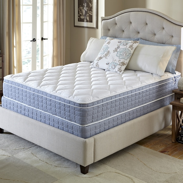 Shop Serta Revival Euro Top Queen Size Mattress And