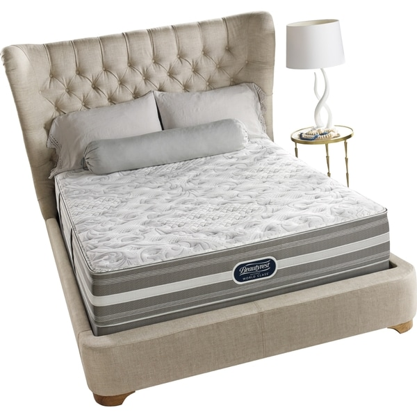 Beautyrest Recharge World Class Sea Glen Extra Firm Queen Size Mattress Set