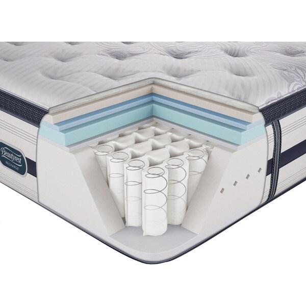 Beautyrest Recharge Reynaldo Plush Pillow Top Queen Size Mattress Set Free Shipping Today 15410011