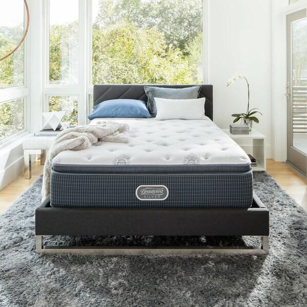 Beautyrest Silver Maddyn Luxury Firm Pillow Top Queen Size Mattress Set