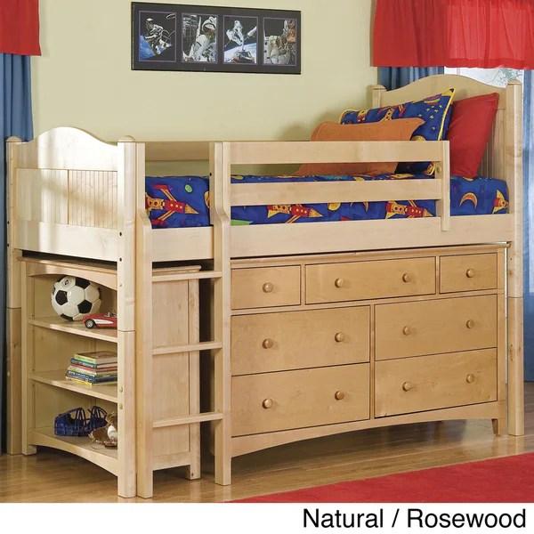 Bennington Low Loft Twin Bed Essex 7 Drawer Dresser 1