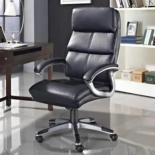 Stellar High Back Ergonomic Executive Office Chair in Vinyl