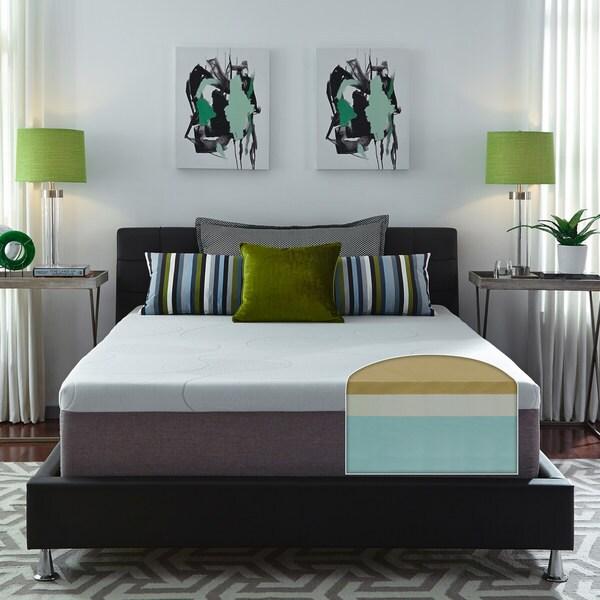 Slumber Solutions Choose Your Comfort 14 Inch Twin Size Memory Foam Mattress