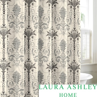 Laura Ashley Josette Cotton Shower Curtain