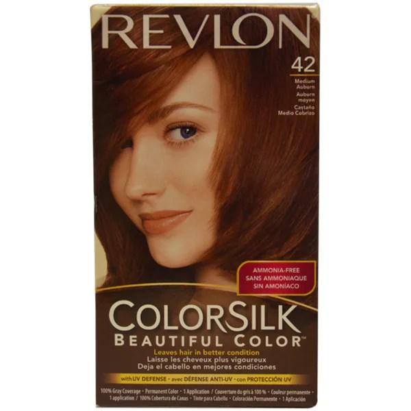 Shop Revlon ColorSilk Beautiful Color 42 Medium Auburn