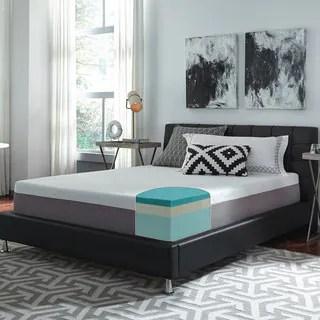 Slumber Solutions Choose Your Comfort 12 Inch King Size Gel Memory Foam Mattress
