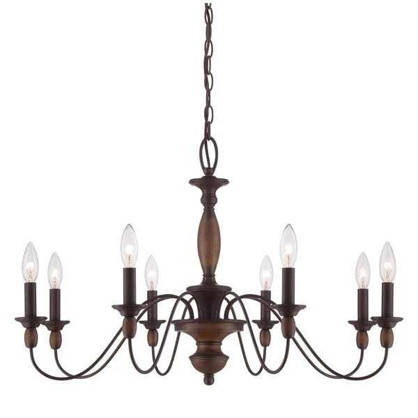 Quoizel Holbrook 8 Light Chandelier Free Shipping Today 15882878