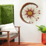 Metal Sun Moon Wall Decor On Sale Overstock 8640959