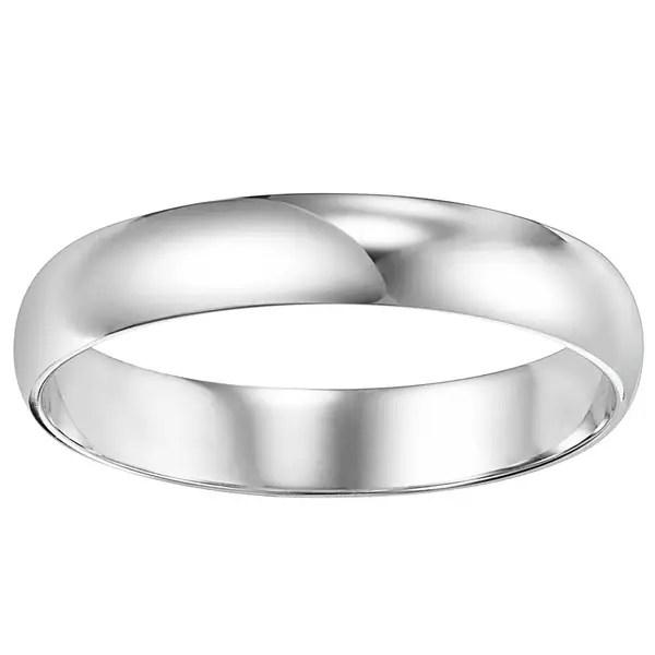 Shop Cambridge Mens 5mm Platinum Wedding Band Free