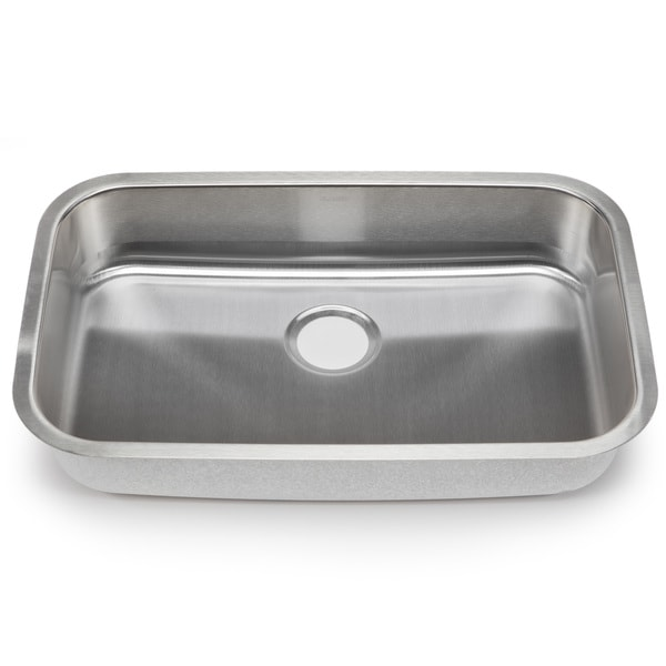 Blanco Stellar Gauge Steel Undermount Single Ada Bowl Kitchen Sink