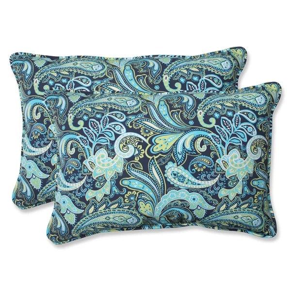 pillow perfect outdoor pretty paisley