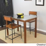 Carbon Loft Newton Stainless Steel Top Bar Table On Sale Overstock 19754213 Black 4 Seat