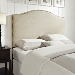Linen Queen Full Size Upholstered Headboard On Sale Overstock 9010655