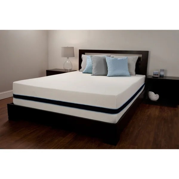 Sealy 12 Inch King Size Memory Foam Mattress Free Shipping Today 16233145