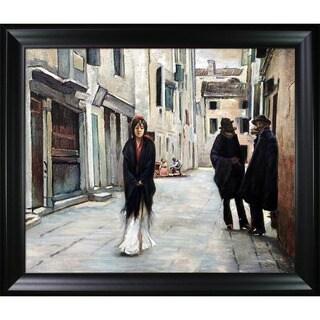 John Singer Sargent El Jaleo Hand Painted Framed Canvas
