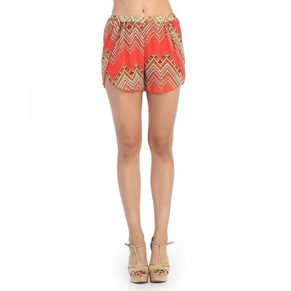 Hadari Women's Tribal Print Casual Shorts, fashion blog, lookbook, fashion trends