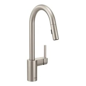 Buy Moen Kitchen Faucets Online at Overstock com   Our Best Faucets     Moen Align Spot resistant Stainless Steel Kitchen Faucet