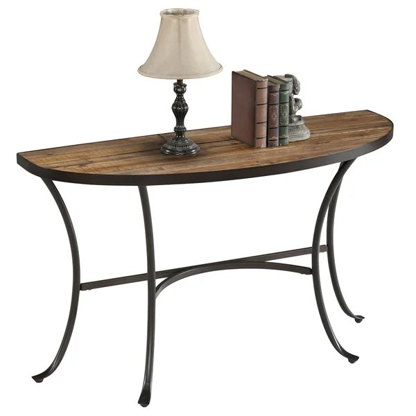 Image Result For Simple Living Seneca Xx Black Grey Reclaimed Wood Sofa Table