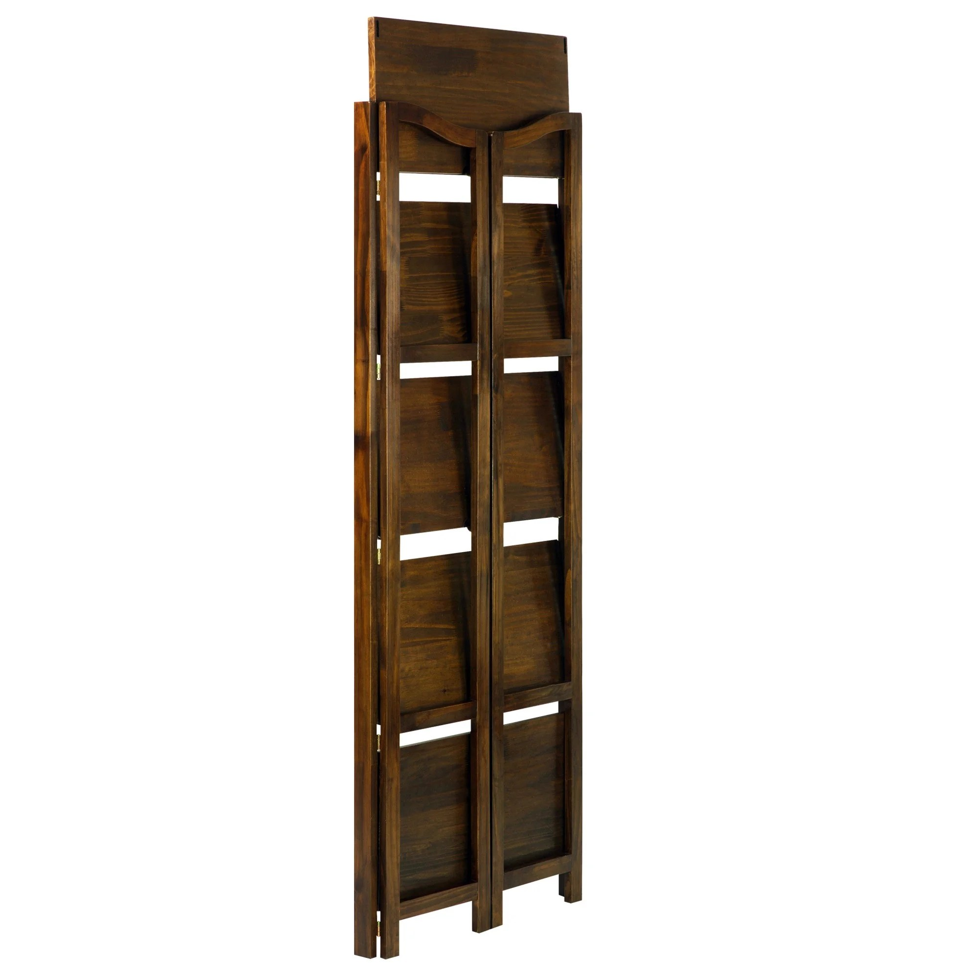 Stratford 5 Shelf Folding Bookcase