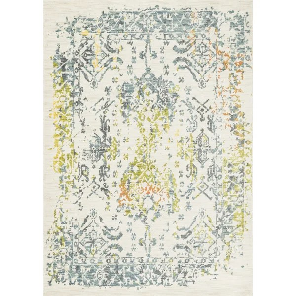 Laurent Ivory Slate Rug 52 X 77 Free Shipping Today 16322770