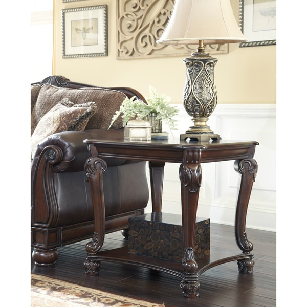 Image Result For Signature Design By Ashley Norcastle Dark Brown Sofa Table
