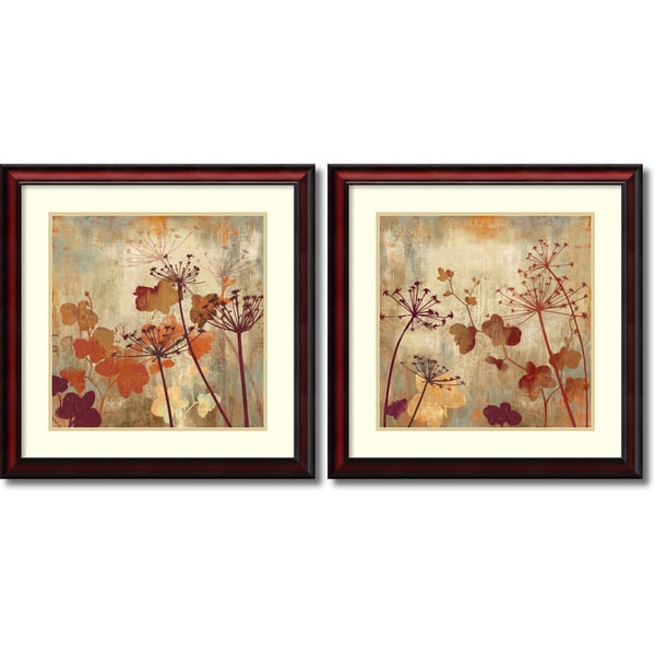 Aimee Wilson Wild Field Set Of 2 Framed Art Print 26 X