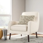 Oxford Cream Colored Modern Accent Chair Overstock 9203102