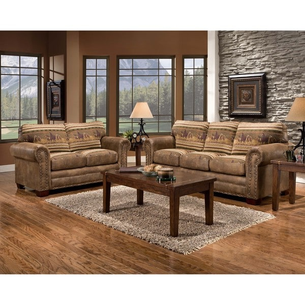 Wild Horses Lodge Loveseat Reviews Deals Amp Prices