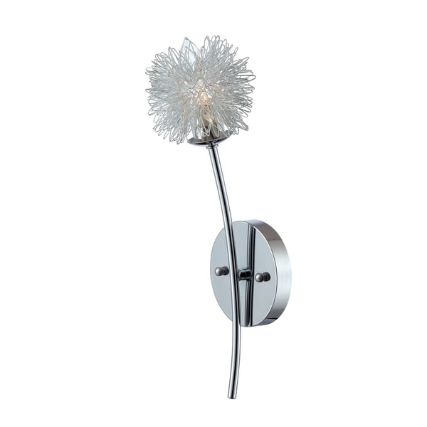 Shop Flower Power Wall Sconce - On Sale - Free Shipping ... on Flower Wall Sconces id=34435