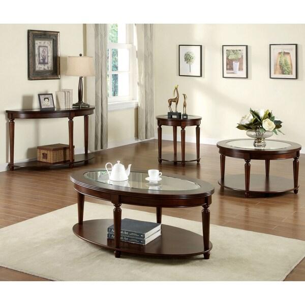 furniture of america crescent dark