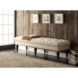 bedroom benches & settees for less | overstock